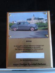 SAAC plaque