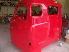 painted cab rear corner view