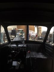 Inside out Route van view