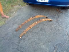 New front springs arrived