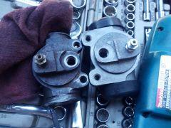 Brake Cylinder Mismatch