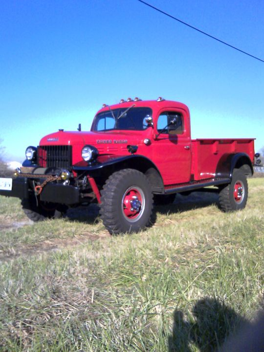 1947 Dodge WDX Power Wagon