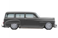 '50 Plymouth Suburban Lowered Hot Rod 2......