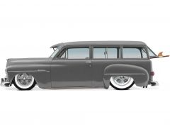 '50 Gray Suburban Rader Wheels