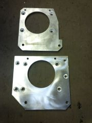 AoK - Tranny Adapter plates for connecting an A833 overdrive to a Dodge/Fargo truck bell housing that had a heavy 3 speed, light or heavy 4 speed tranny & Car/light truck 3 speed