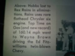 Rex rains 1961 dragsterwriteup