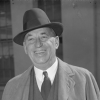 """Walter P. Chrysler at White House (cropped)"" by Harris & Ewing, photographer"
