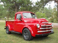 1949 Dodge on 1994 Dakota Frame