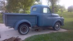 Dodge 1952 B 3 B though I may switch out the Cab to a 1953