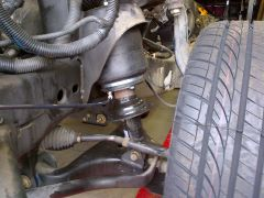 Armada, installation of front air bag suspension