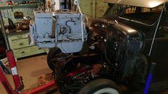 mock up engine drop
