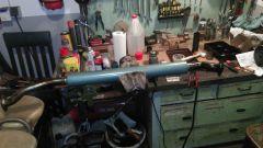welding the second muffler