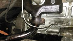 closeup of rear dump