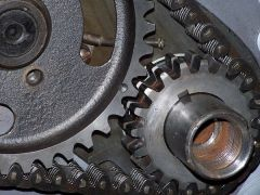 Correct alignment of timing gears