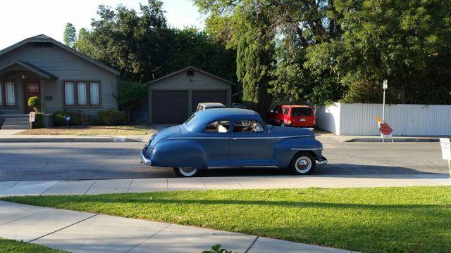 Stella, my 1947 Plymouth P15 - Finally Home