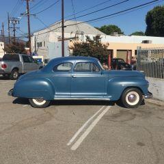 Stella, my 1947 Plymouth P15 - Passenger Side