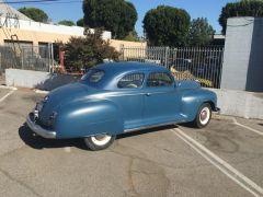 Stella, my 1947 Plymouth P15 - Rear Passenger Side