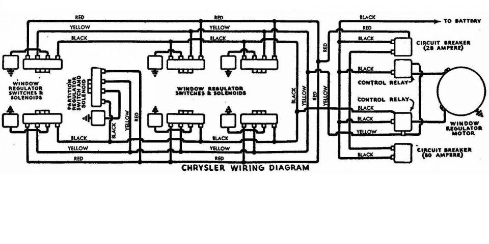 Hydro-electric Window Regulator Wiring Diagram Chrysler Early 1950 U0026 39 S - Electrical