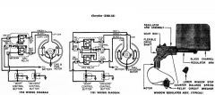 Window Regulator Wiring Diagram Chrysler 1950-53 1/2
