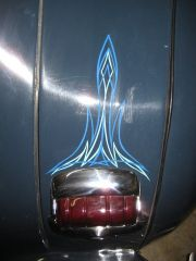 Pinstripe rear lights