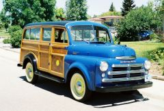 1950 Dodge B2B108 - Campbell Body Woodie