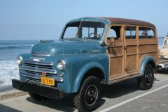 1948 Dodge B1B108 4x4 - Cantrell Body Woodie
