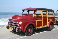 1949 Dodge B1B108 - Cantrell Body Woodie