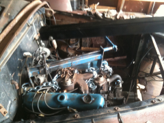 The motor is in