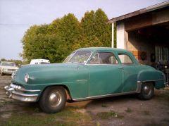 1951 DeSoto coupe as found