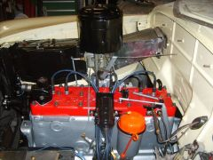 Totally rebuilt Chrysler six (was a factory install)