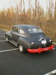 1946 Dodge D24 red bumper!