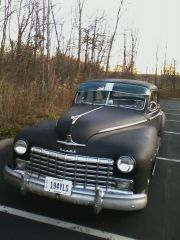 1946 Dodge D24 out for a ride