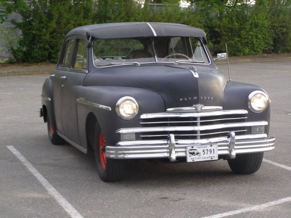 Canadian 49 Plymouth Special Deluxe