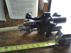 Mock up master cylinder replacement - Tilton bracket
