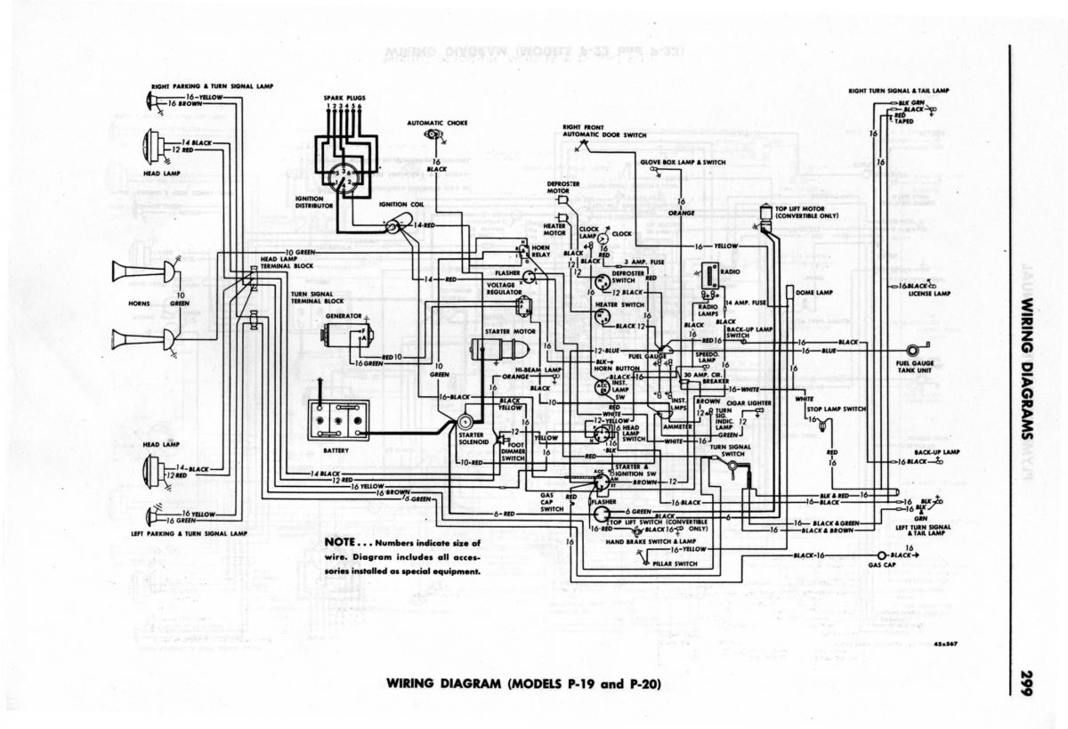 1950 plymouth deluxe wiring diagram