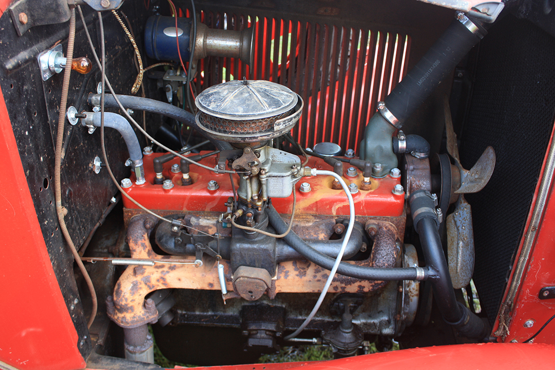 1935 DB 1 1/2 ton Truck Engine and Transmission