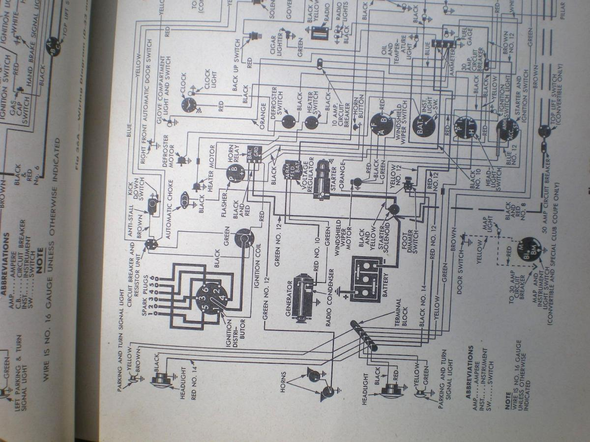 New Member And Hopefully New Question PD Forum PD - 1948 chrysler windsor wiring diagram