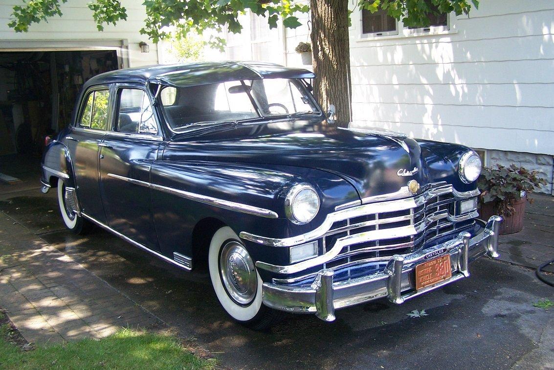 49 Chrysler Re-Paint