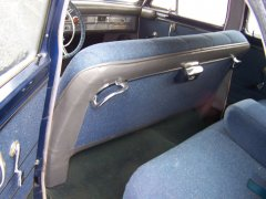 49 Chrysler Rear Seat