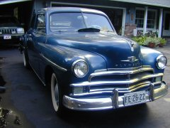 1950 Plymouth Club Coupe