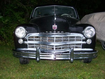 1949 CANADIAN PLYMOUTH WITH DODGE GRILL ETC.jpg