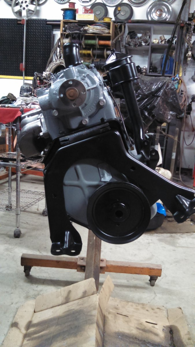 Motor after assy