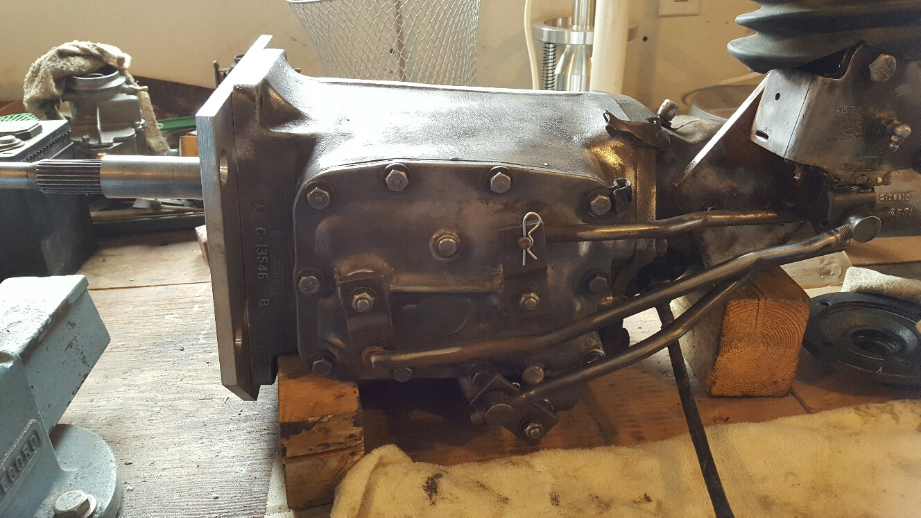 The chrysler a833 overdrive trans conversion blog