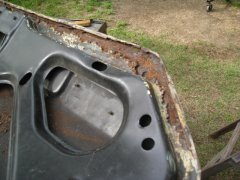 badly rusted deck lid