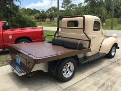 1946 dodge truck     and my 1938  dodge d 8