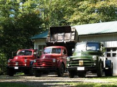 Three In A Row 4, 2-1/2 and 1- ton 1951-53 Dodge trucks