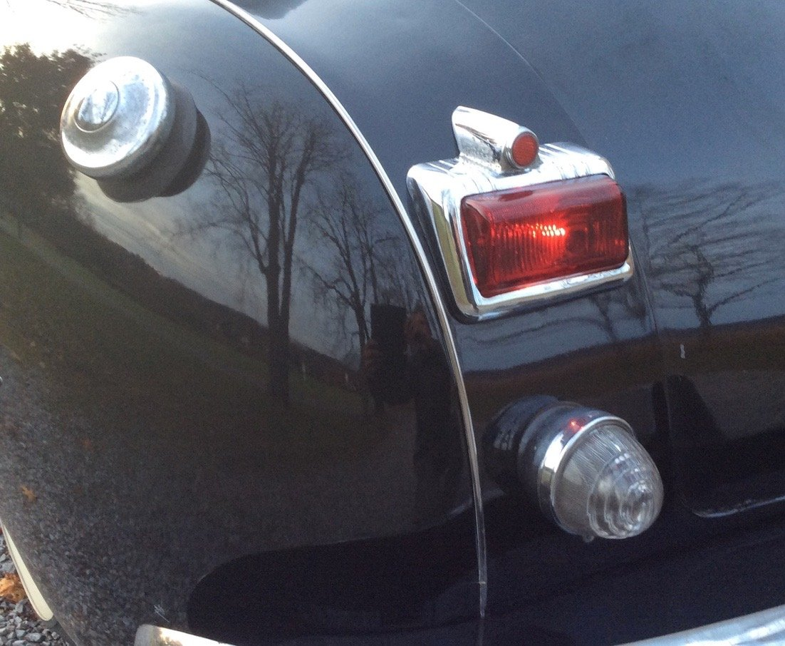 Back up light & locking fuel cap options
