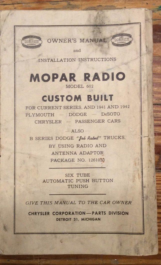 Radio Document