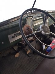 You don't see steering wheels like this anymore
