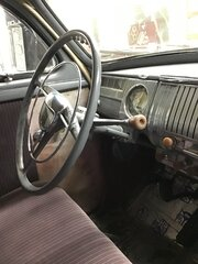 Steering wheel and driver side dash